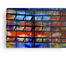 Coloured Reflections Metal Print