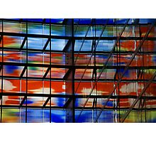 Coloured Reflections Photographic Print