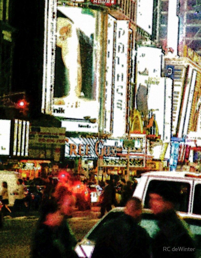 Night in the City II by RC deWinter
