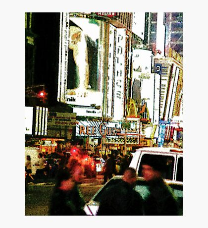 Night in the City II Photographic Print