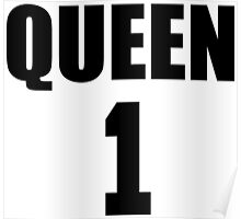 Queen (Black) The Hers of the His and Hers Poster