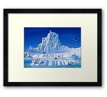 Glacier Pokemon Framed Print