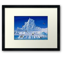 Glacier Pokemon Framed Print
