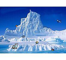 Glacier Pokemon Photographic Print