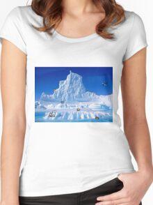 Glacier Pokemon Women's Fitted Scoop T-Shirt