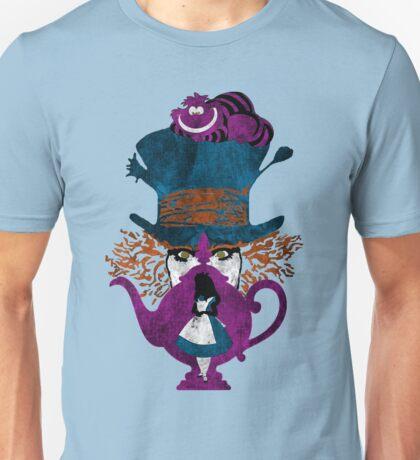 Wonderland (light blue) Unisex T-Shirt