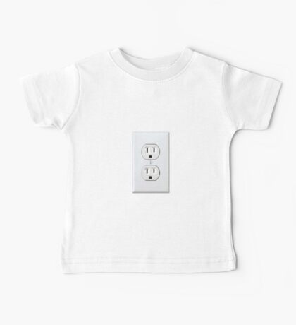 There's never an outlet where you need one. Baby Tee