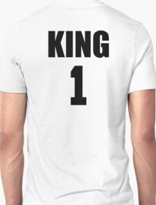 KING (Black) The His of The His and Hers couple shirts Unisex T-Shirt