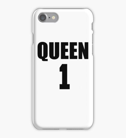 Queen (Black) The Hers of the His and Hers iPhone Case/Skin