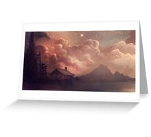 Fantasy Clouds Greeting Card
