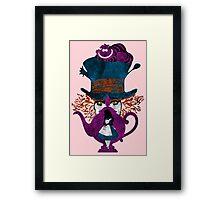 Wonderland (light pink) Framed Print