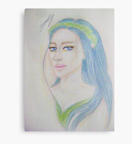 Elf Girl Canvas Print