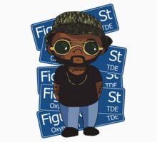 Schoolboy Q Hip Hop illustration by AnnaKruse