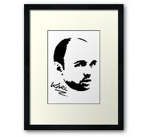 Karl Pilkington - Karl Framed Print