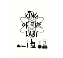 King of the Lab! 2 Art Print
