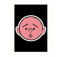 Karl Pilkington Art Print