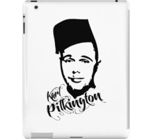 Karl Pilkington - Fez iPad Case/Skin