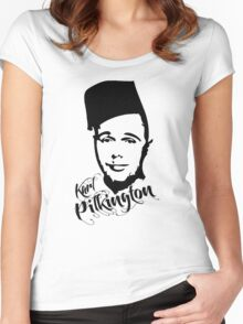 Karl Pilkington - Fez Women's Fitted Scoop T-Shirt