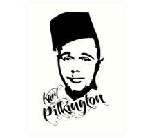 Karl Pilkington - Fez Art Print