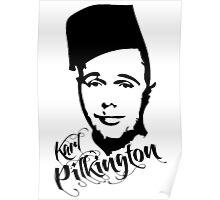 Karl Pilkington - Fez Poster