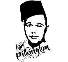 Karl Pilkington - Fez Photographic Print