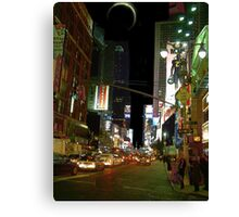 Night in the City III Canvas Print
