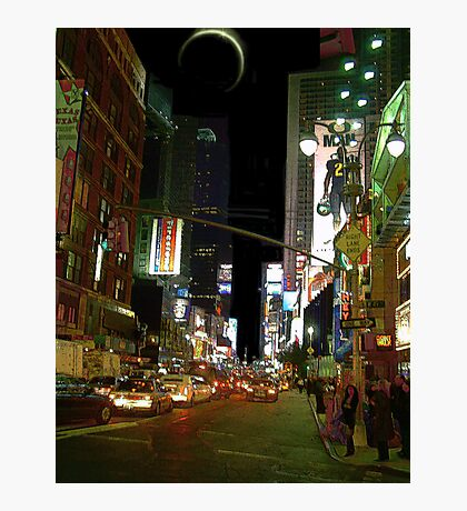 Night in the City III Photographic Print