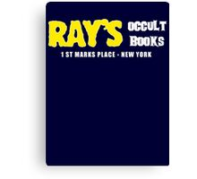 Rays Occult Books New York Canvas Print