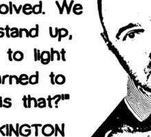 Karl Pilkington - Evolution Quote Sticker