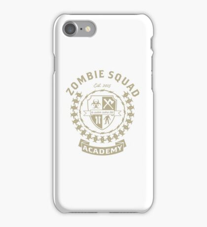 ZOMBIE SQUAD ACADEMY iPhone Case/Skin