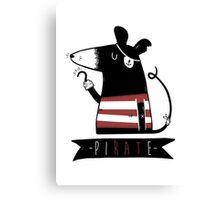 Pirate Rat Canvas Print