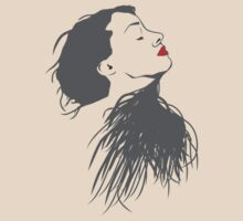 Red Lips Lady by raae