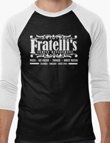 Fratelli's Family Restaurant Astoria Oregon Men's Baseball ¾ T-Shirt