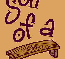 Son Of A Bench by artdyslexia