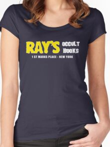 Rays Occult Books New York Women's Fitted Scoop T-Shirt