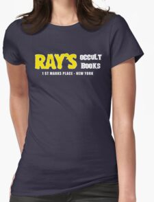 Rays Occult Books New York Womens Fitted T-Shirt