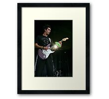 Giving it to the crowd Framed Print