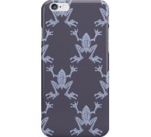 Fabulous Frogs - Midnight iPhone Case/Skin