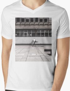 BMX Mens V-Neck T-Shirt