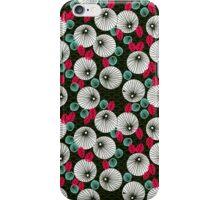 Parasol Garden - Pink and Green by Andrea Lauren iPhone Case/Skin