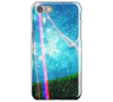 Abstract Colourful Landscape and Night Sky. iPhone Case/Skin