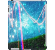 Abstract Colourful Landscape and Night Sky. iPad Case/Skin