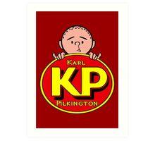 Karl Pilkington - KP Art Print