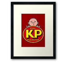 Karl Pilkington - KP Framed Print