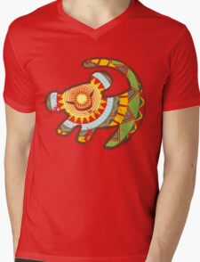 Simba One Mens V-Neck T-Shirt