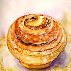 Delicious ..Cinnamon Bun by  Janis Zroback
