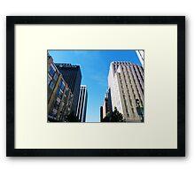 RALEIGH NORTH CAROLINA Framed Print