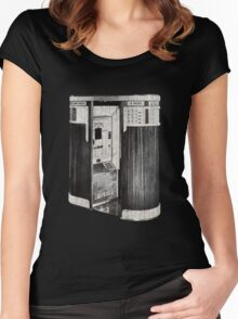 1940's Photobooth Women's Fitted Scoop T-Shirt