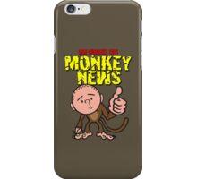 Karl Pilkington - Monkey News iPhone Case/Skin