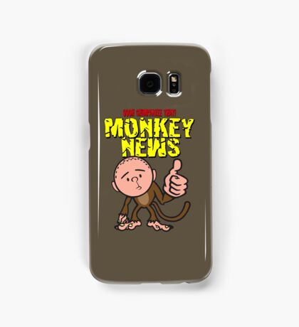 Karl Pilkington - Monkey News Samsung Galaxy Case/Skin